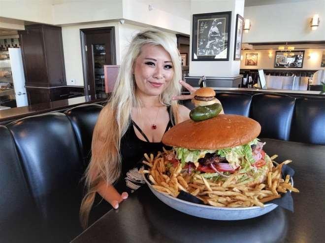 omg burger challenge