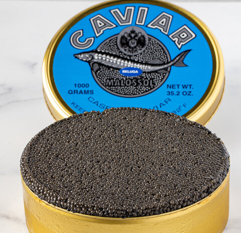 For The First Time In 15 Years Purebred Beluga Caviar is Legally Available in the US