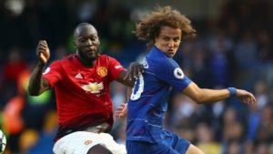 David Luiz (Chelsea) and Romelu Lukaku (Manchester United)