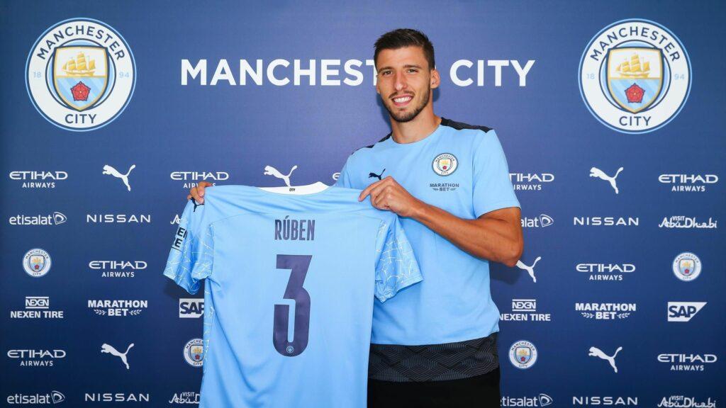 Ruben Dias (Benfica to Manchester City)