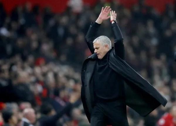 Jose Mourinho angry