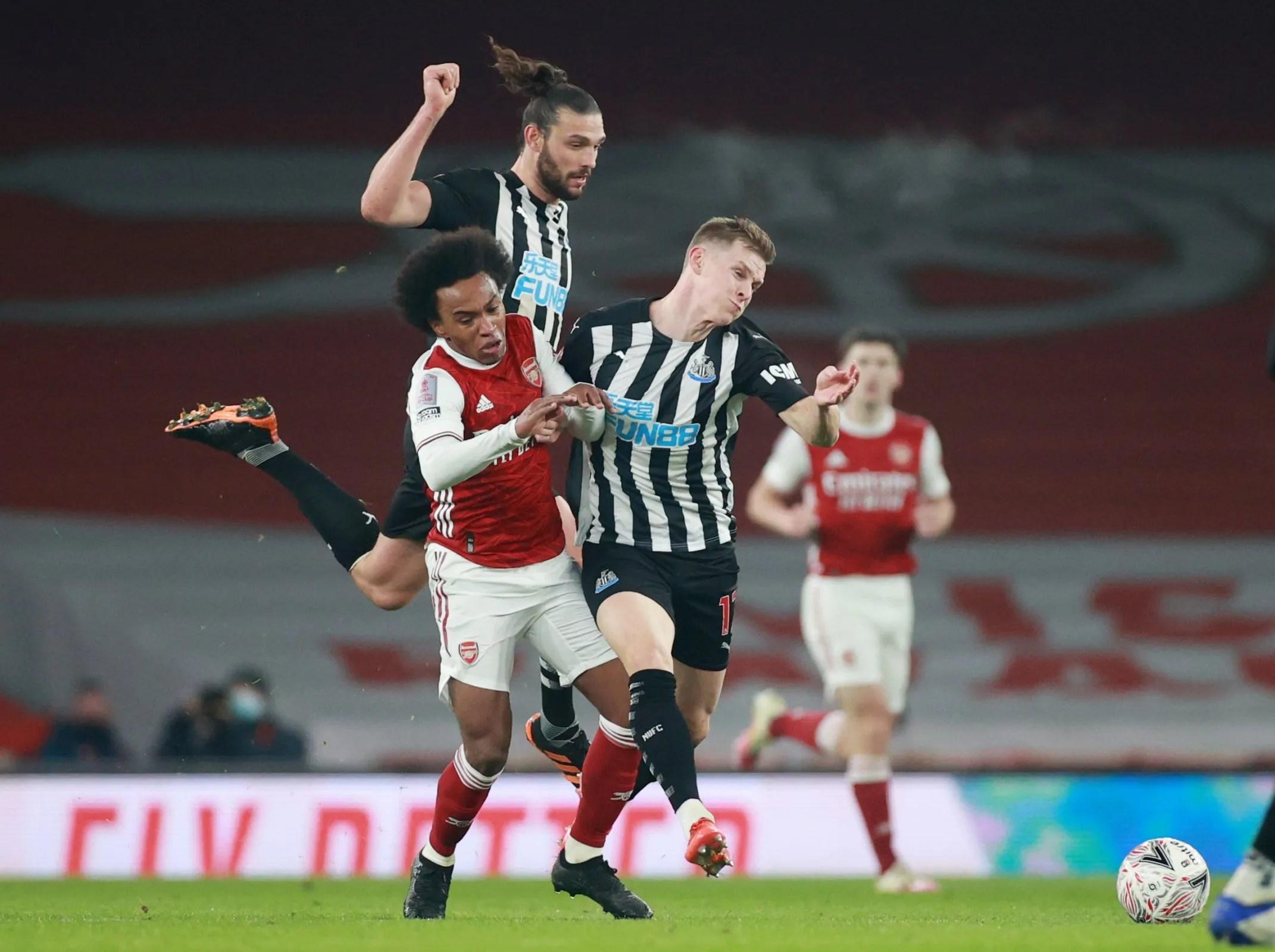 The stats that show Emil Krafth betrayed Newcastle more than Joelinton vs Arsenal