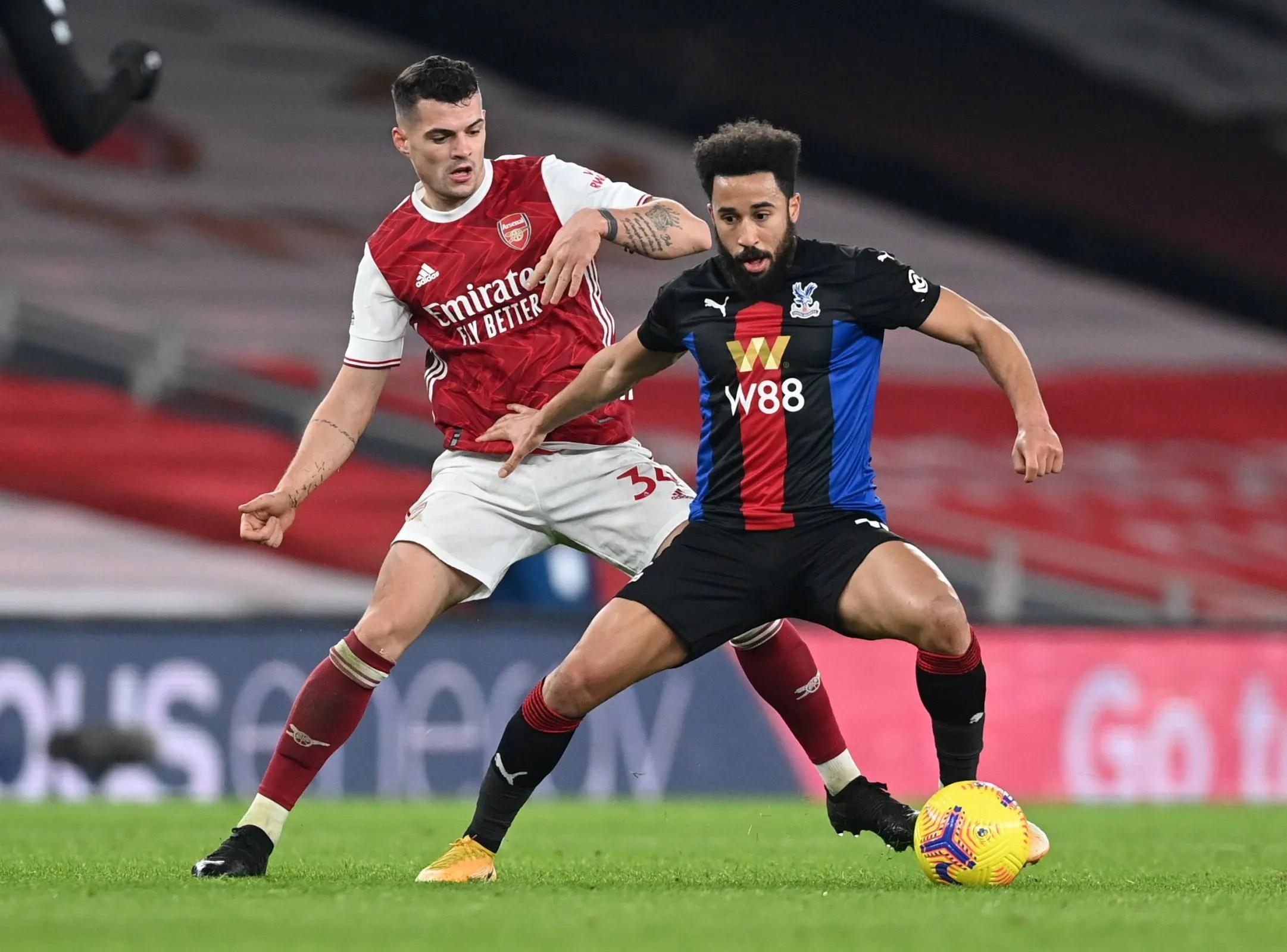 Arsenal's Xhaka was superb vs Palace
