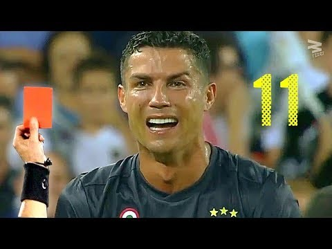 Image result for cristiano ronaldo red card