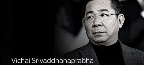 Image result for vichai srivaddhanaprabha black and white