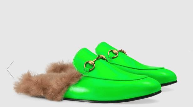 Gucci Princetown slippers. Foto Gucci.com