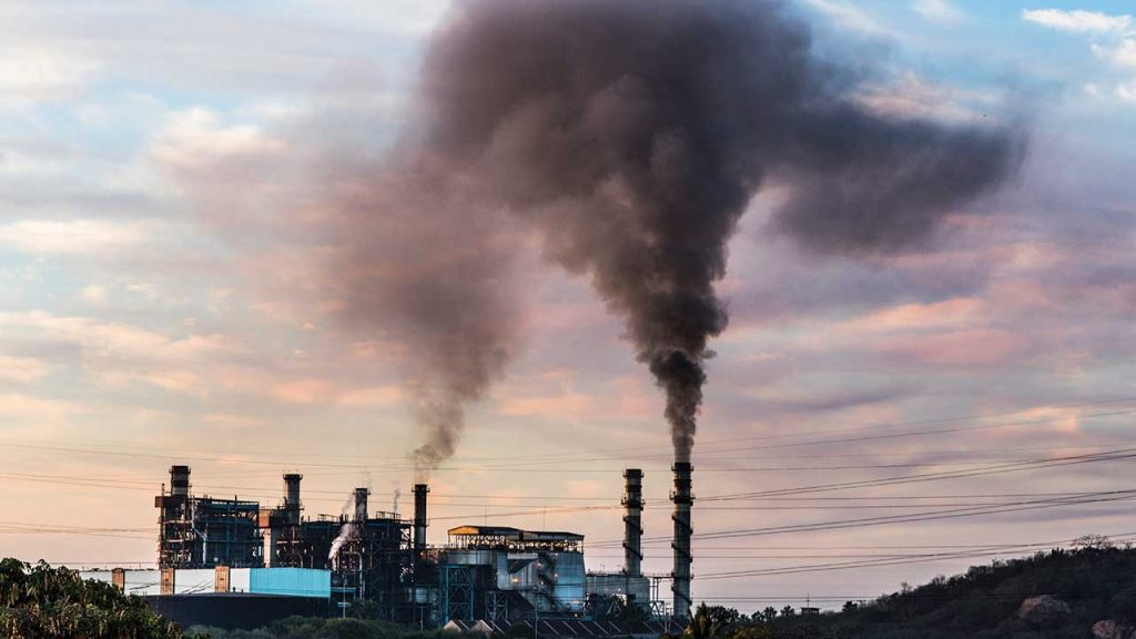 Contaminación Coal Fired Power Station in Mexico