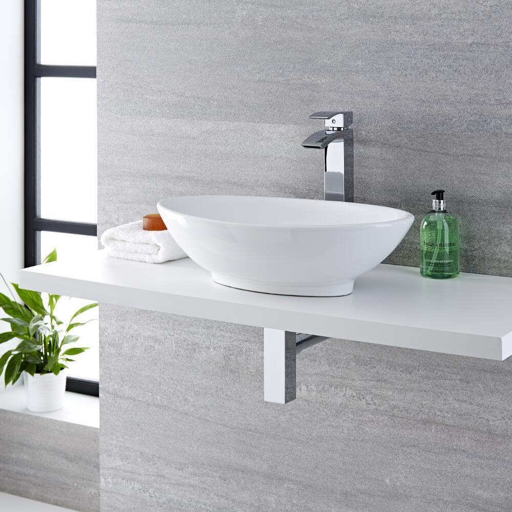 Vasque A Poser Ovale 52 X 32cm Kenton