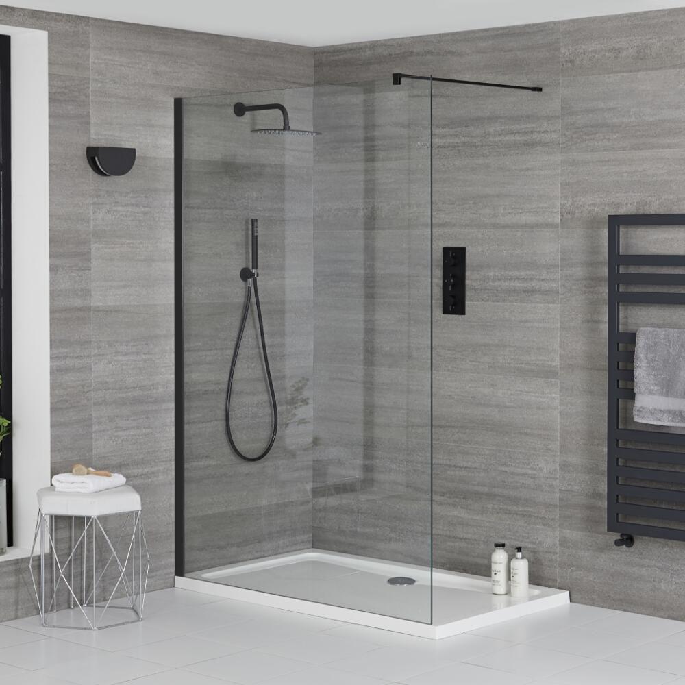 douche italienne d angle avec receveur de douche multiples tailles disponibles nox