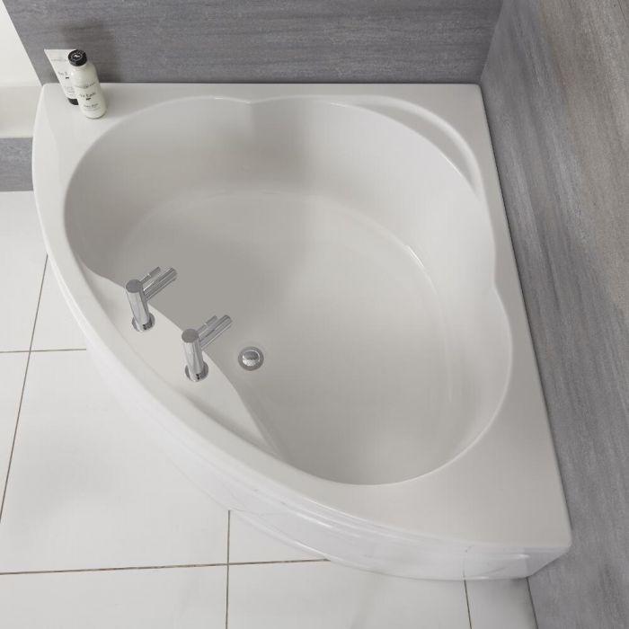 baignoire dangles banc avec rondin de