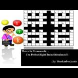 Thematic Crosswords : The Perfect Right Brain Stimulants
