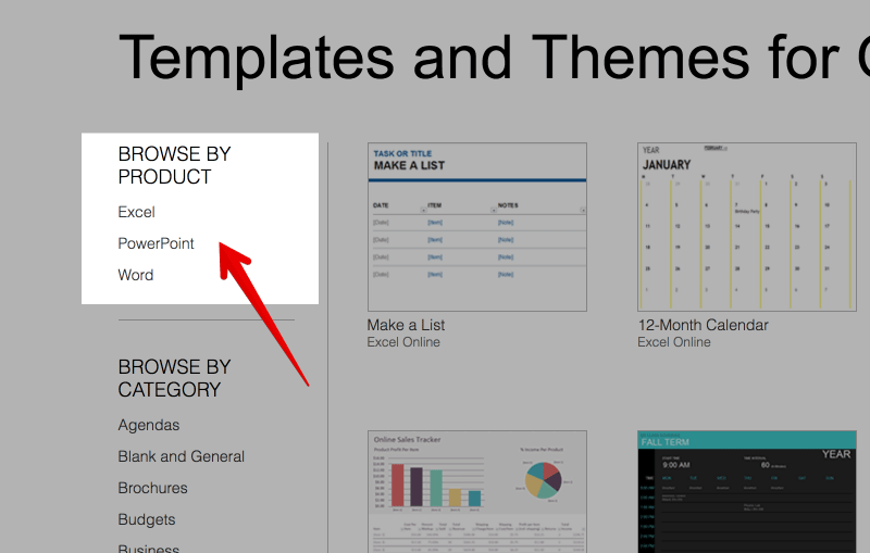 Excel Powerpoint Word Office Templates Fppt