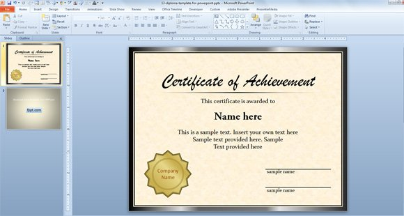 Editable Certificate Templates of achievement world best free – Free Editable Certificate Templates for Word