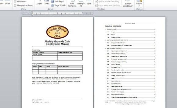 Microsoft Office Manual Template microsoft office manual template – Microsoft Office Manual Template