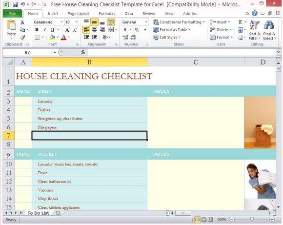 Excel Checklist Templates. Excel Checklist Template Free