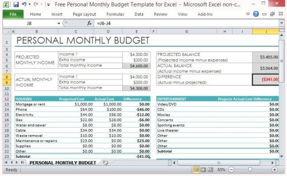 Basic Budget Template Excel 1000 ideas about budget templates on – Monthly Expense Calculator