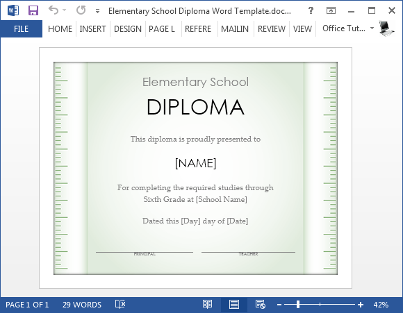 Diploma Template Microsoft Word ms word world 39 s best award – Diploma Template Microsoft Word