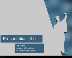 Free Graduation Ceremony Powerpoint Template