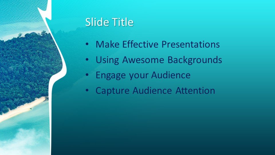 Free Island Powerpoint Template Free Powerpoint Templates
