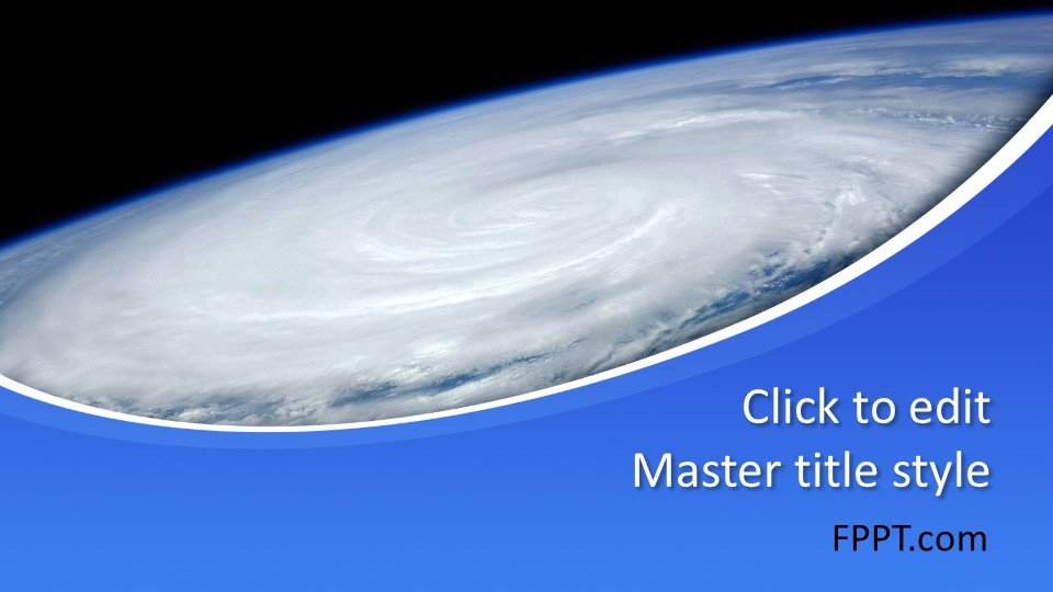Free Hurricane PowerPoint Template Free PowerPoint Templates