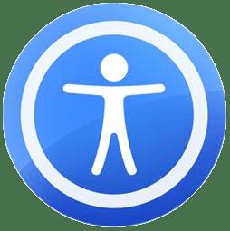 apple logo accessibility