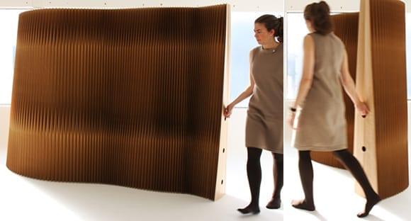 Trennwnde Aus Kraftpapier Als Coole Raumteiler Ideen Fr