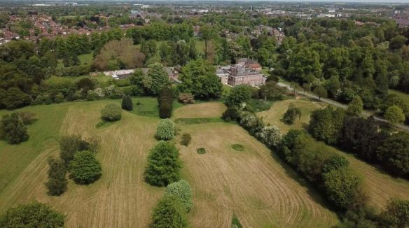 Georgian parkland surrounding Blackwell Grange in Darlington is under threat from housing