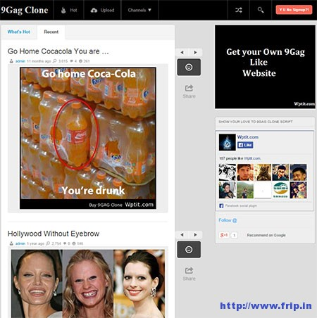 9GAG-Clone-Script-WordPress-Tema