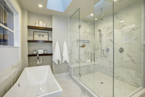 is a ceiling shower head right for your