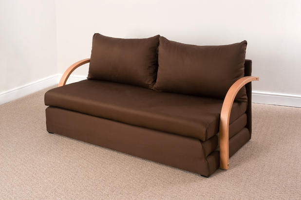 Fold Out Double Foam Sofa Bed Chloe Free Delivery