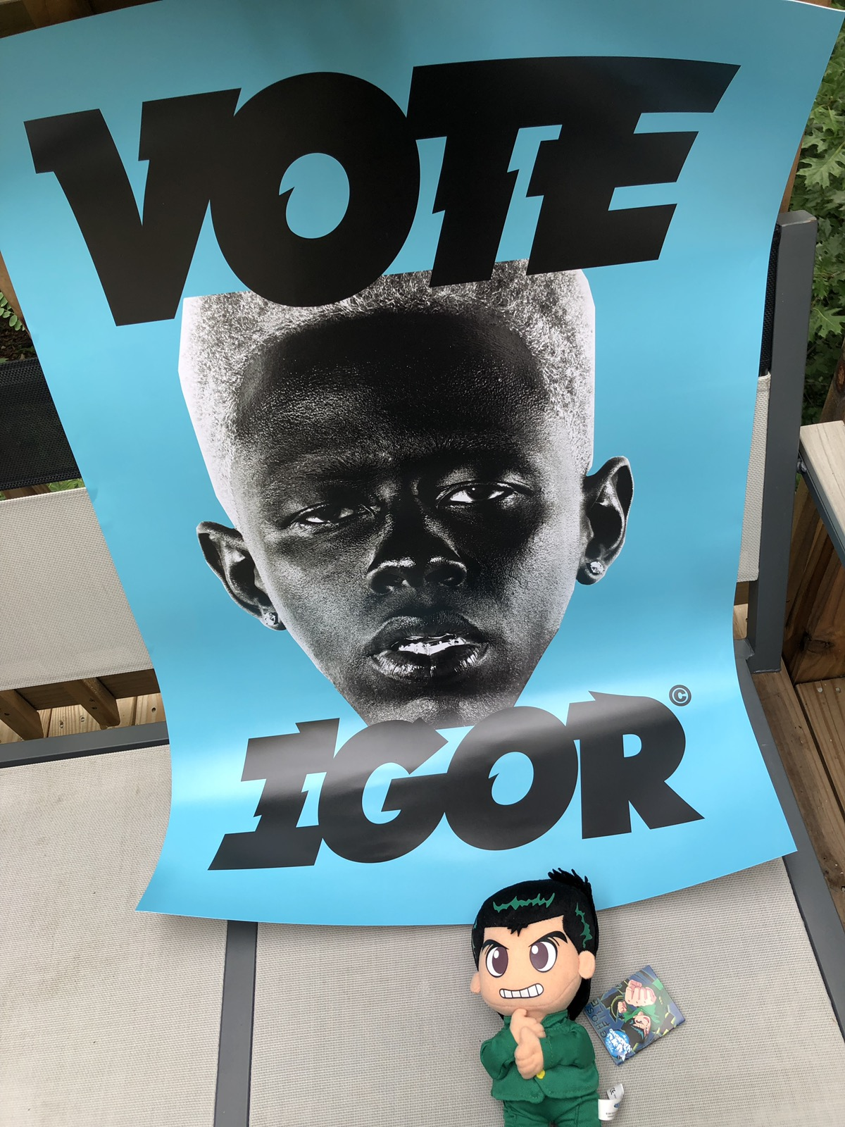 golf wang golf wang vote igor poster blue