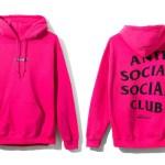Anti Social Social Club Ds Assc Black Logo Ferrari 488 Pink Hoodie In Hand Supreme Grailed