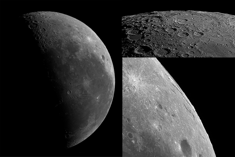Near And Far Side Moon