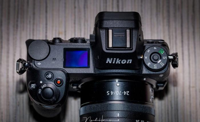 Элементы управления Nikon Z7