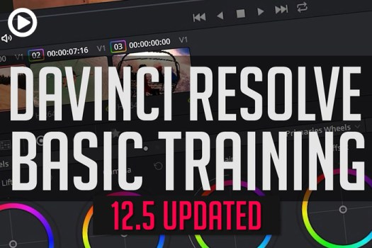 Get Started with DaVinci Resolve 12.5 in Less Than 35 Minutes