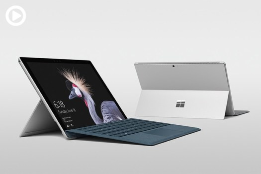 Microsoft Introduces the New Surface Pro, 'The Most Versatile Laptop'