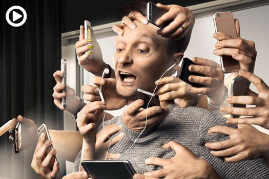 Has Modern Technology Negatively Impacted Our Lives? Composite Photographer Illustrates How