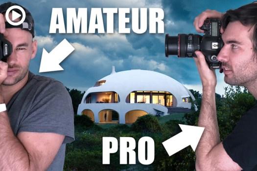 Amateur Vs. Pro Architecture Photographer Shoot the 'Dome House'