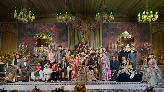 Shooting Family Photos in a Wedding