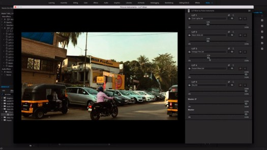 Picture Instruments Releases LUT Mixer, a New Way to Apply LUTs in Premiere and FCPX