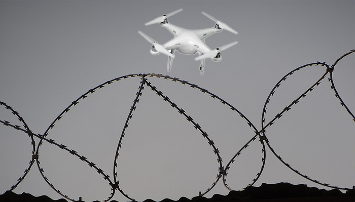 Drug Dealers Arrested After Crashing Their Drone in Prison With Footage of Themselves on Memory Card