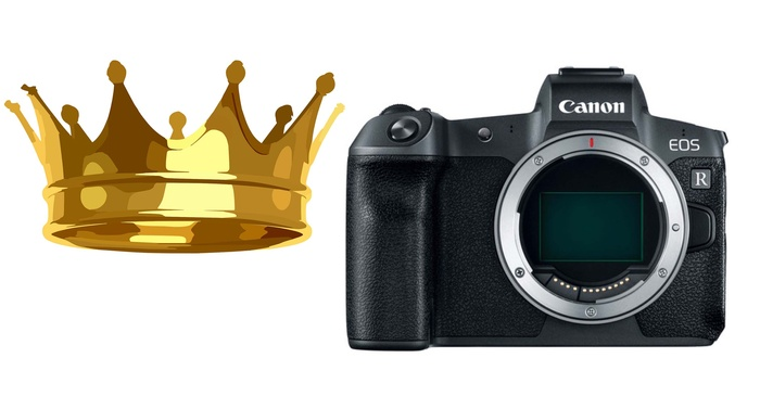 Canon EOS R Tops Sony, Nikon for November Sales at Large Japanese Retailer