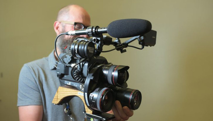Mount Three Lenses on One Camera With This Multi Turret