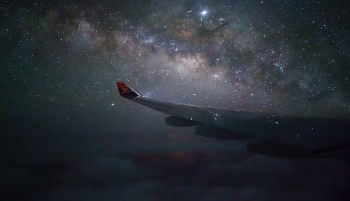 Photographing the Milky Way From an Airplane?