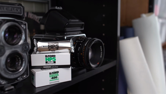 Behind the Scenes at Ilford Photo's Factory