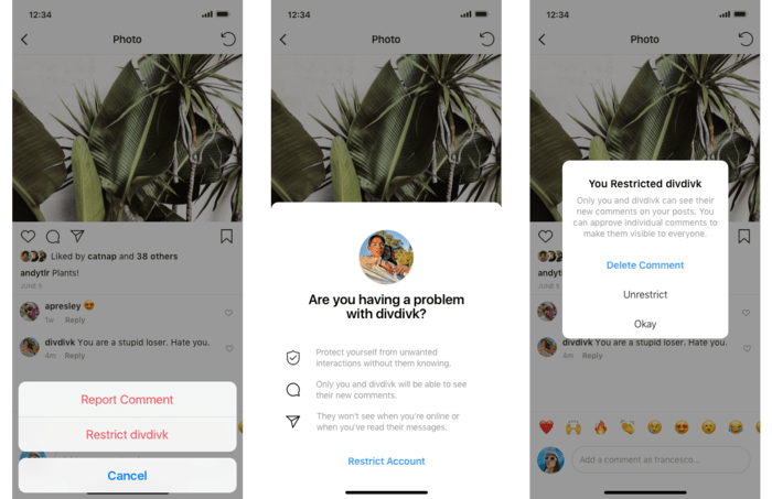 Instagram Is Testing New Anti-Bullying Measures, Feature Includes Ability to Shadow Ban Specific Users