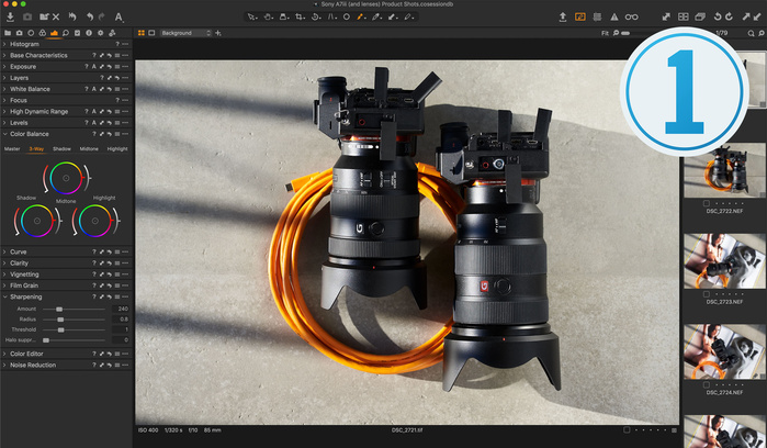 Three More Things Capture One Can Do That Lightroom Can't: Luma Curve, Sessions, and Process Recipes