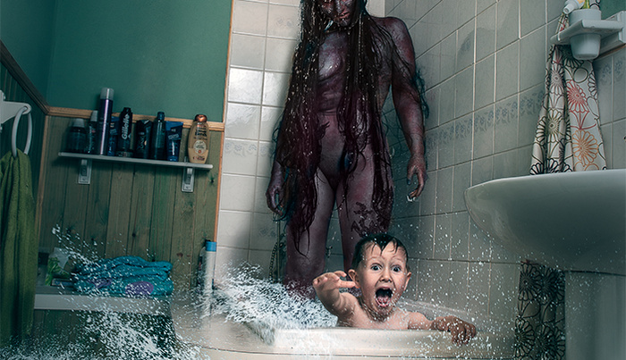 Photoshop Walkthrough of Infamous Horror Image Father Created With His Son