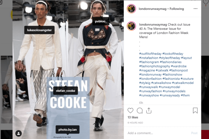 Why Don't Fashion Designers Credit Models?