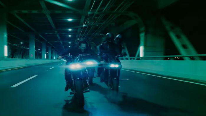 BTS of John Wick 3: Bike Fight Scene